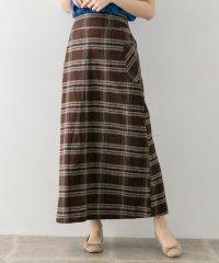 【WAREHOUSE】チェックアサAラインスカート