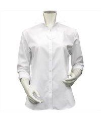 シャツ 七分袖 形態安定 スキッパー衿 透け防止 レディース ウィメンズ