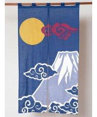 【カヤ】和柄長暖簾 富士山 7ISP0111