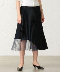 チュールコンビラップスカート