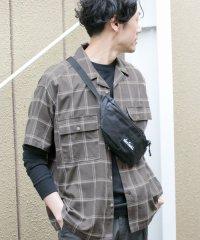 【DOORS】オープンカラーダブルポケットシャツ