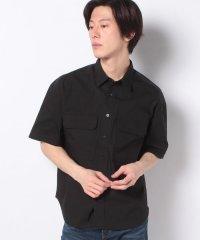【WAREHOUSE】ダブルポケットSSルーズシャツ