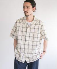 【UR】BalCollarCheckshirts
