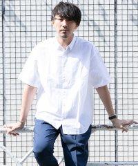 【ROSSO】リラックス半袖シャツ
