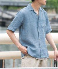 【DOORS】リネンオープンカラーシャツ