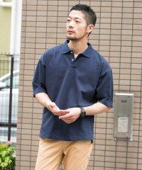 【ROSSO】リラックスポロシャツ