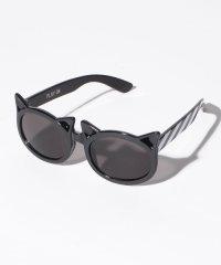 【トドラー向け】 UVケア ネコ型ファッションサングラス