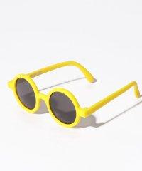 【ベビー向け】 UVケア 丸型ファッションサングラス