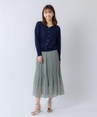 シフォンプリーツスカート(0R10-CK167)