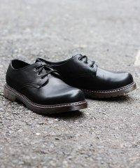 3ホール ブーツ バウンシングソール メンズ 靴 短靴 ギブソン 革靴 ラブハンター/1701