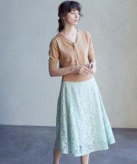 《musee》レースフレアスカート