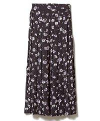 《musee》フワラープリントスカート