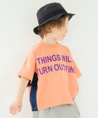 メッシュ切替え半袖Tシャツ(90~150cm)