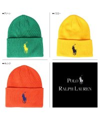 ポロ ラルフローレン POLO RALPH LAUREN ニット帽 ニットキャップ ビーニー メンズ KNIT CAP ブラック ネイビー レッド ブルー グリ
