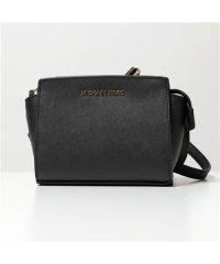 【MICHAEL KORS(マイケルコース)】32H3GLMC1L SELMA mini Messanger セルマ ミニ ショルダーバッグ 鞄 BLACK レ