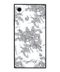 iPhoneXR ROYALPARTY [レース/WHITE] 背面ガラスケース