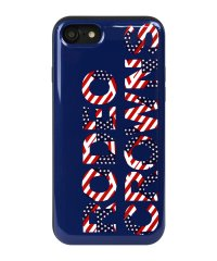 iPhone8/7兼用/RODEOCROWNS [FLAGS] カード収納型背面ケース
