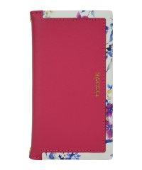 iPhoneXS Max/rienda [スクエア/ブラー/ピンク]手帳ケース