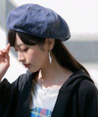 『コットンツイルベレー帽』
