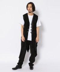 TT/ティーティー/Leather Vest/レザーベスト