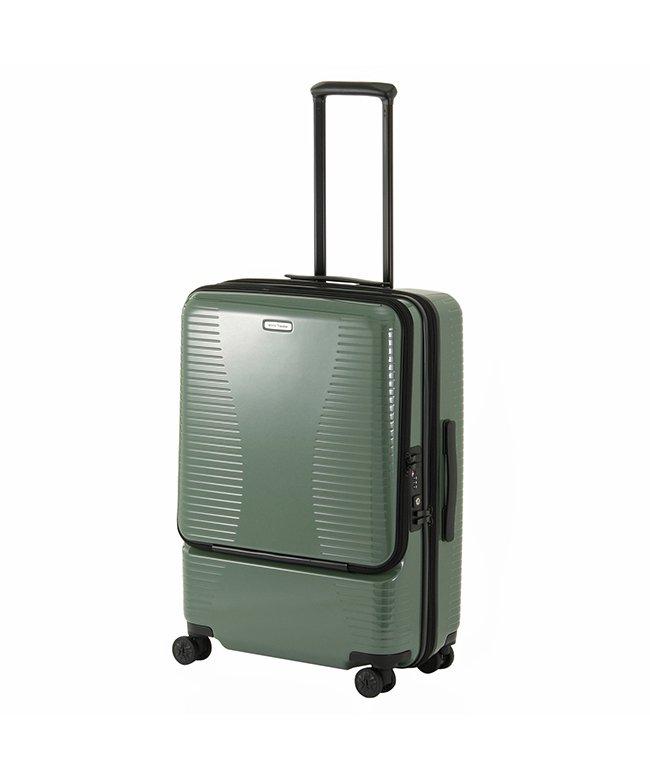 (World Traveler/ワールドトラベラー)エース ワールドトラベラー スーツケース Mサイズ 64L/74L 拡張 軽量 ACE World Traveler 06702/ユニセックス グリーン