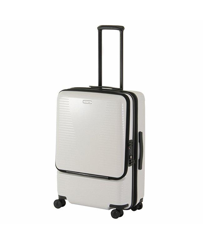 (World Traveler/ワールドトラベラー)エース ワールドトラベラー スーツケース Mサイズ 64L/74L 拡張 軽量 ACE World Traveler 06702/ユニセックス ホワイト