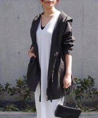 【2020新作】ドロストデザインフード付きジャケット mitis SS スプリングコート