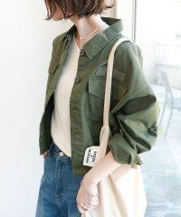 チノツイルオーバーサイズシャツジャケット