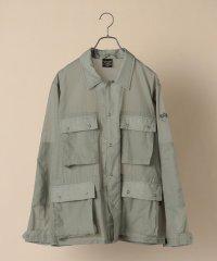 ALPHA: ライト パッカブル ARMY ジャケット