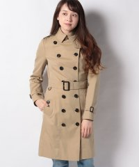 【Burberry】Woman's Sandringham Long Trench Coat