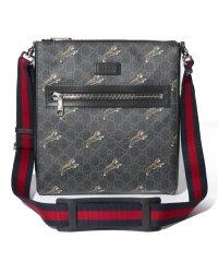【GUCCI】GG Supreme Tiger Messenger Bag