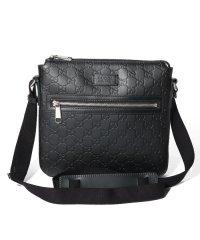 【GUCCI】Gucci Signature Leather Messenger Bag