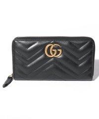 【GUCCI】GG Marmont Zip Around Wallet