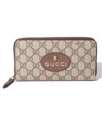【GUCCI】Neo Vintage GG Supreme Zip Around Wallet