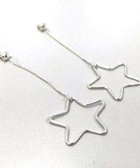 DROIT BELLO(ドロイトベロ)星チェーンピアス