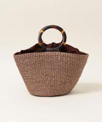 【一部カラー別注】COTTO:リングハンドルカゴバッグ