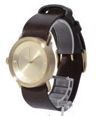 【TID Watches】時計 No.1_36mm  GOLD / WALNUT
