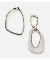 ASYMMETRY MARBLE EARRINGS
