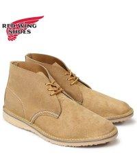 レッドウィング RED WING ブーツ チャッカブーツ メンズ WEEKENDER CHUKKA Dワイズ ブラウン 3321