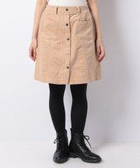 【WAREHOUSE】マエボタンコーデュロイスカート