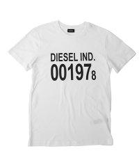 DIESEL T-DIEGO-001978 ディーゼル プリント Tシャツ 00SASA-0AAXJ