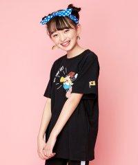 ミニーマウス/ロング丈Tシャツ