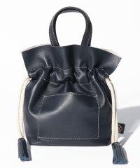 【LISA CONTE】タッセル巾着バッグ