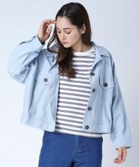 FIKA. Color Denim Jacket