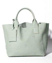 【NUR】スター刺繍入りハンドバッグ