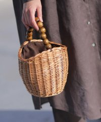 HALIN/Wood Ball Basket