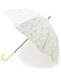 Wpc. フラワー柄長傘