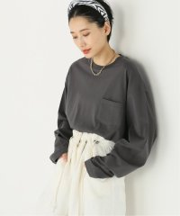 【STAND ALONE/スタンド アローン】L/S SHORT-T-SH:カットソー