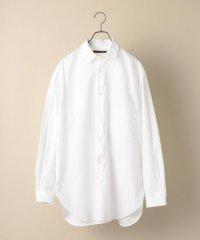 BENCH MARKING SHIRTS: ビッグシルエット USUALLY COLLAR ロング丈 シャツ