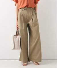 【KALLMEYER】 Deep Pocket Belted Wide Leg Pants